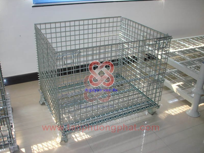 Mesh Pallet Cage